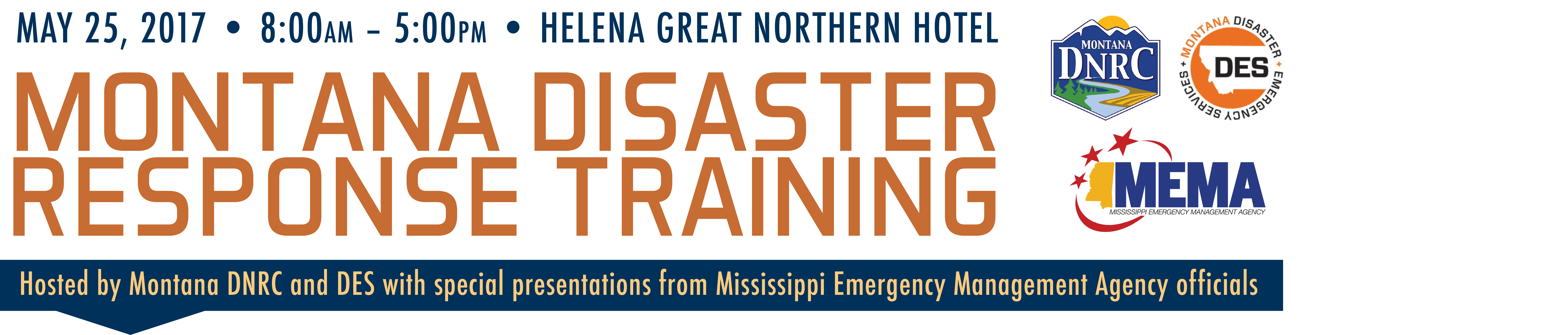 2017 Disaster Event Banner