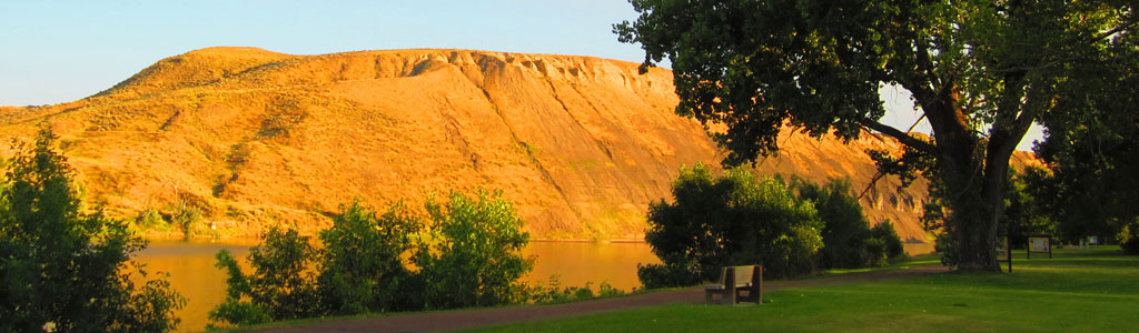 Fort Benton in Afternoon Sun
