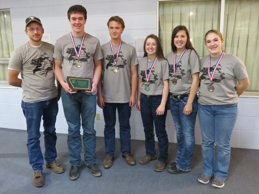 2016 Envirothon Missoula FFA 2nd Place