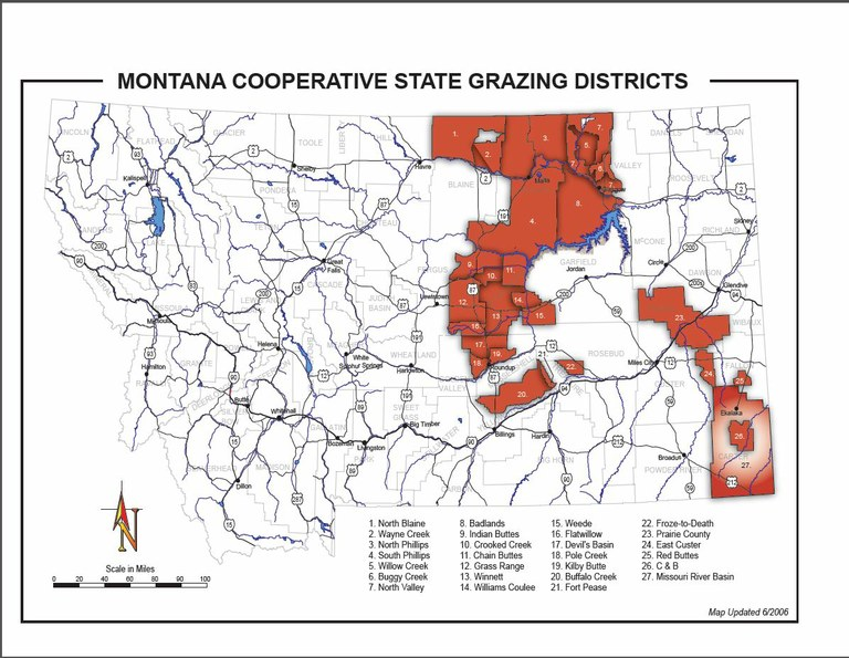 Grazing Districts Map