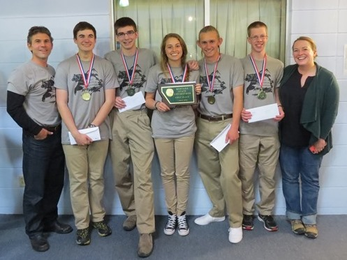 2016 Envirothon Helena High 1st Place