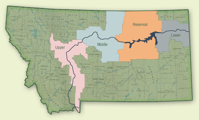 Missouri River watershed