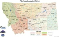MT Conservation Districts map