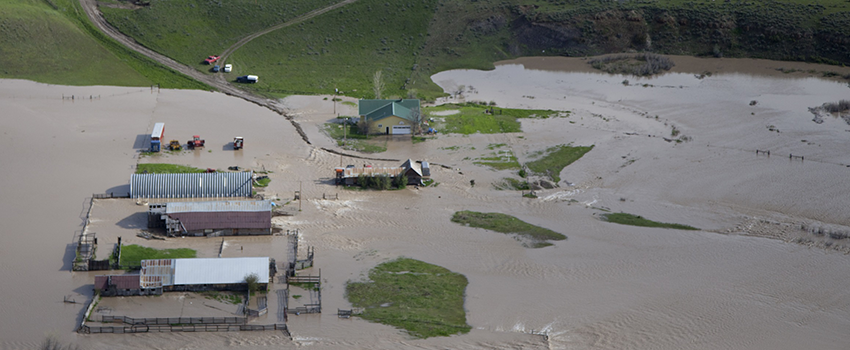 Flooding in Musselshell county