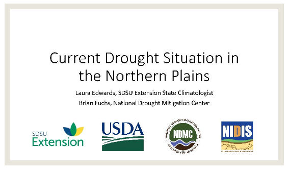 NDMC Northern Plains Drought Summary 2017