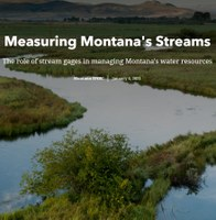 Stream Gages in MT